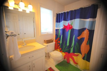 seahorse bathroom conched out