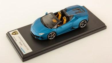 Photo of 1/43 : Une nouvelle couleur pour la Lamborghini Huracan Evo Spyder de Looksmart