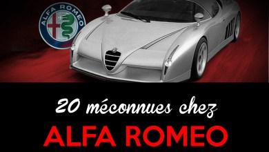 Photo of 20 Alfa Romeo que nous avions oublié