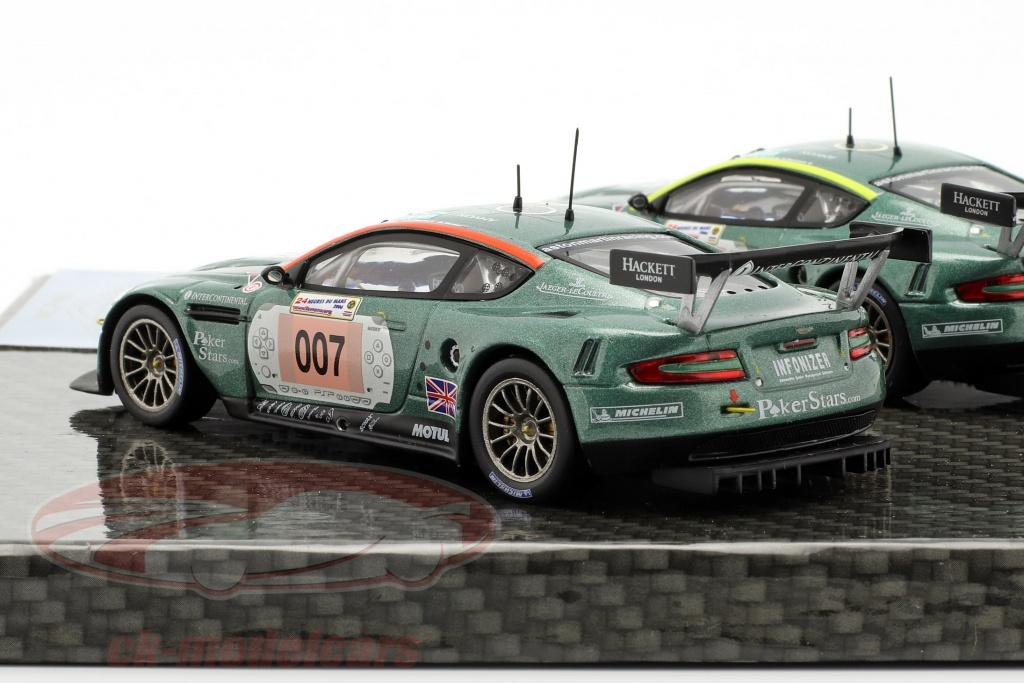 Duo IXO Aston Martin DBR9 007 et 009