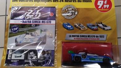 Photo of Hachette : collectionnez les voitures des 24 Heures du Mans au 1/24