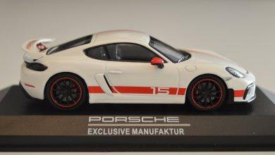 Photo of 1/43 :  La Porsche 718 Cayman GT4 Sports Cup Edition déjà disponible !