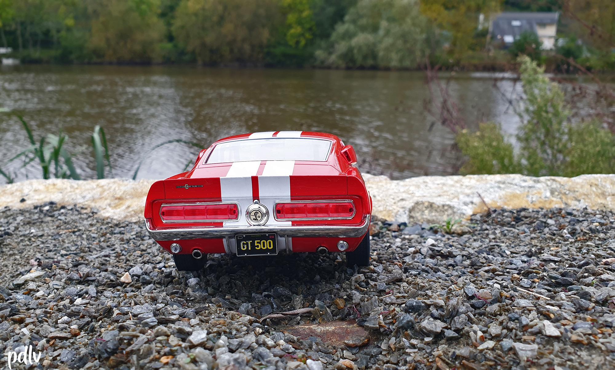 Shelby GT500 Solido S1802902 arrière