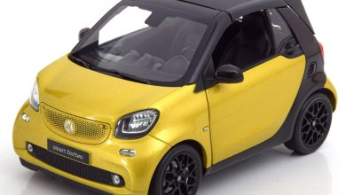Photo of 1/18 : La Smart Fortwo cabriolet Norev à 15,99 €