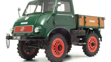 Photo of 1/18 : Le Mercedes Unimog 401 débarque chez Schuco