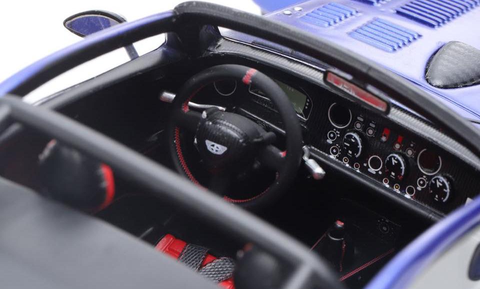 Donkervoort D8 GTO-40 1/18 sièges