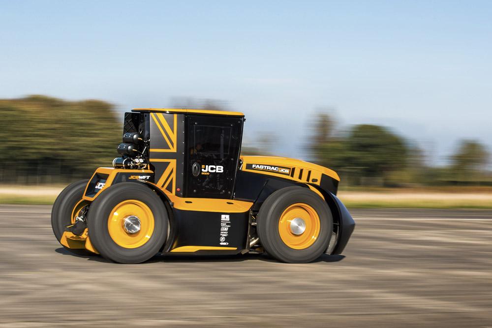 tracteur le plus rapide au monde