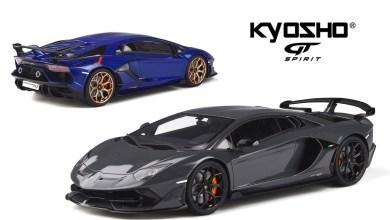 Photo of 1/18 : Une Lamborghini Aventador SVJ en partenariat avec GT Spirit et Kyosho