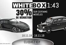 Photo of Modelcarworld : 30% de remise sur une sélection de WhiteBox