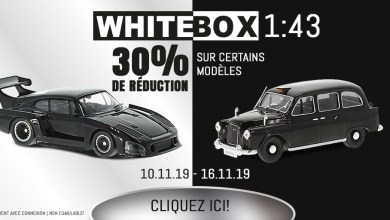 Photo of Modelcarworld : 30% de remise sur une sélection de WhiteBox