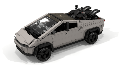 Photo of Lego : Le Tesla Cybertruck reproduit par un fan !