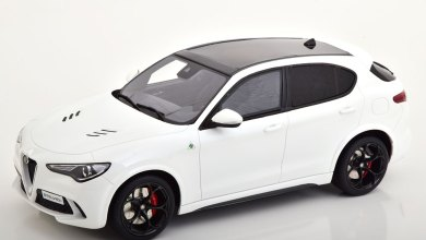 Photo of Modelissimo : l'Alfa Romeo Stelvio QV OttO à 69,95 €