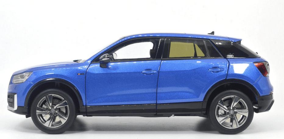 Audi Q2L Paudi bleu qualité