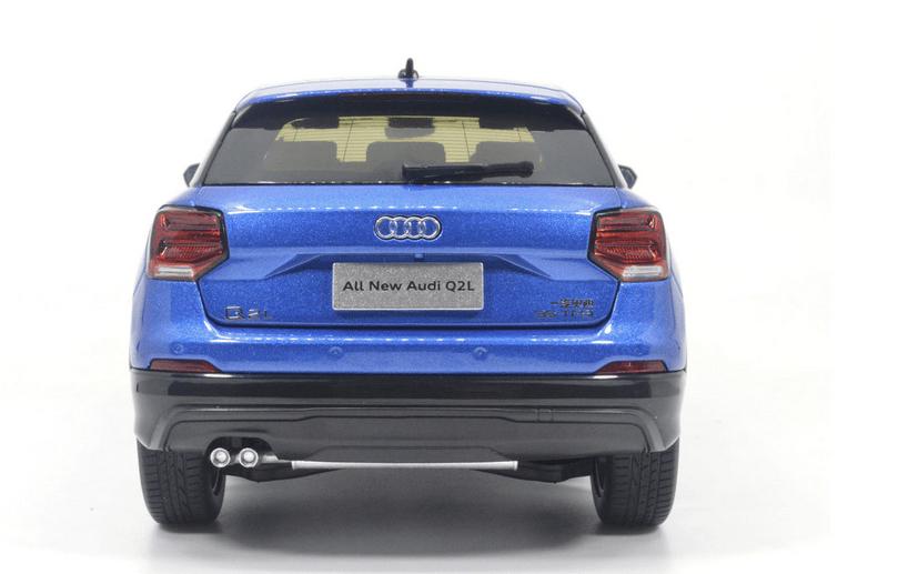 Audi Q2L Paudi bleu prix