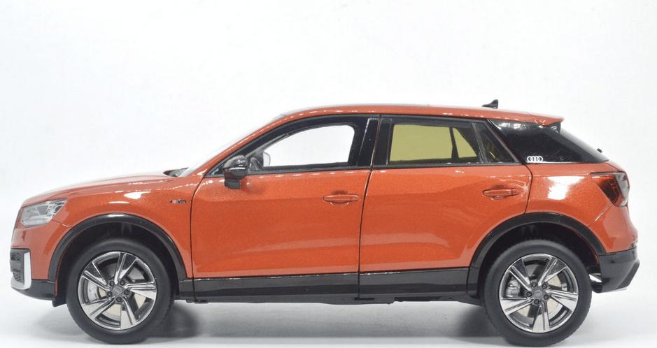 Audi Q2L Paudi orange profil