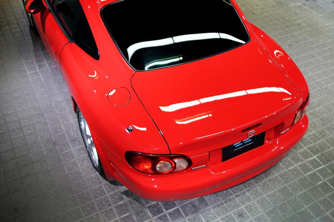 Mazda MX-5 NB coupé arrière