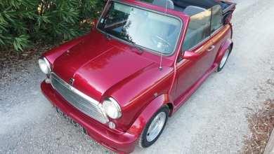 Photo of Une rare Mini cabriolet Karmann de 1994 est à vendre
