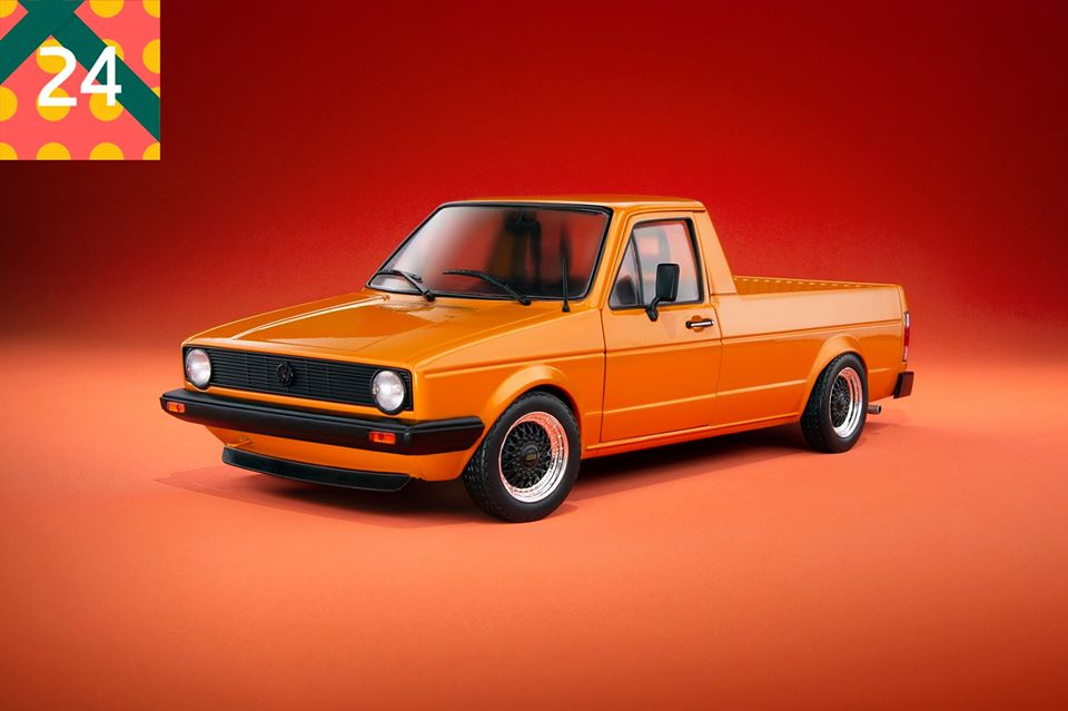 Volkswagen Caddy German Look Solido 1/18