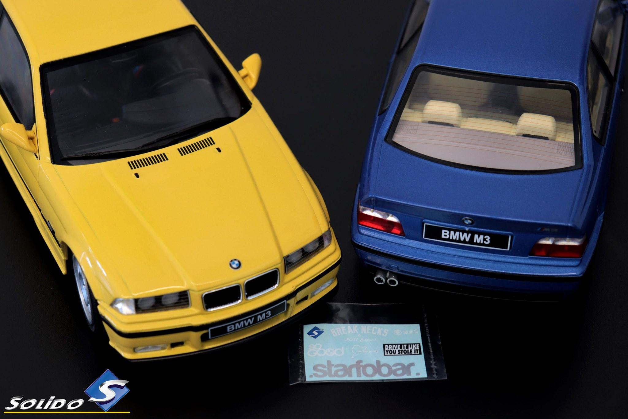 BMW M3 E36 Solido