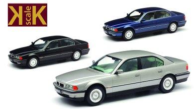 Photo of 1/18 : La BMW 740i E38 prévue chez KK-Scale
