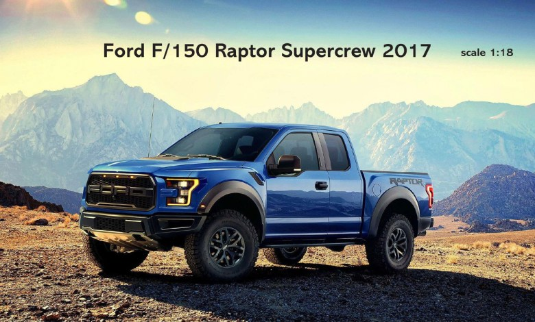 Ford F-150 Raptor 1/18
