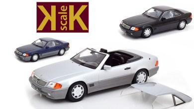 Photo of 1/18 : KK-Scale prépare la Mercedes SL (R129)