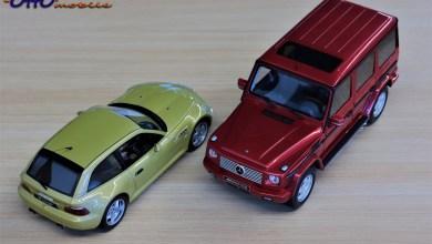 Photo of 1/18 : Les Z3 M coupé et G 55 AMG OttO prennent des couleurs