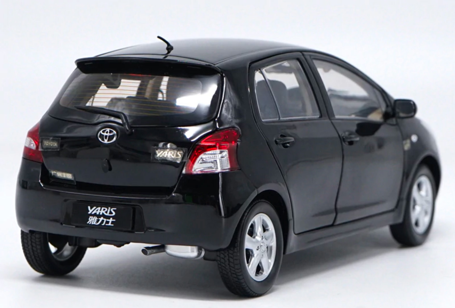 Toyota Yaris Paudi arrière