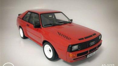 Photo of 1/18 : L'Audi Sport Quattro se décline en rouge