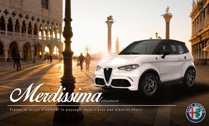 Voiture sans permis Alfa Romeo