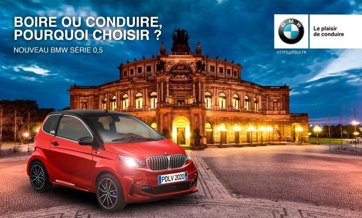 Voiture sans permis BMW