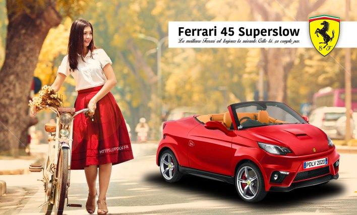 Voiture sans permis Ferrari