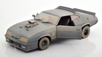 Photo of 1/18 : La Ford Falcon Interceptor de Mad Max « sale » arrive chez Greenlight