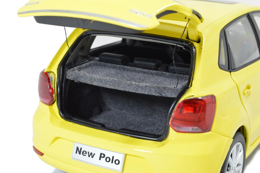 Volkswagen Polo 6R Paudi 1/18 (2338Y) coffre