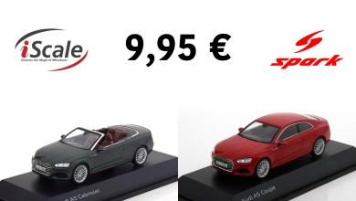 Photo of 1/43 : Des Audi Spark ou iScale à 9,95 €