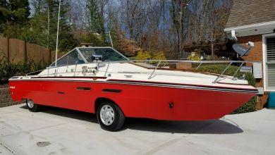 Photo of Ce bateau homologué sur la route est à vendre !