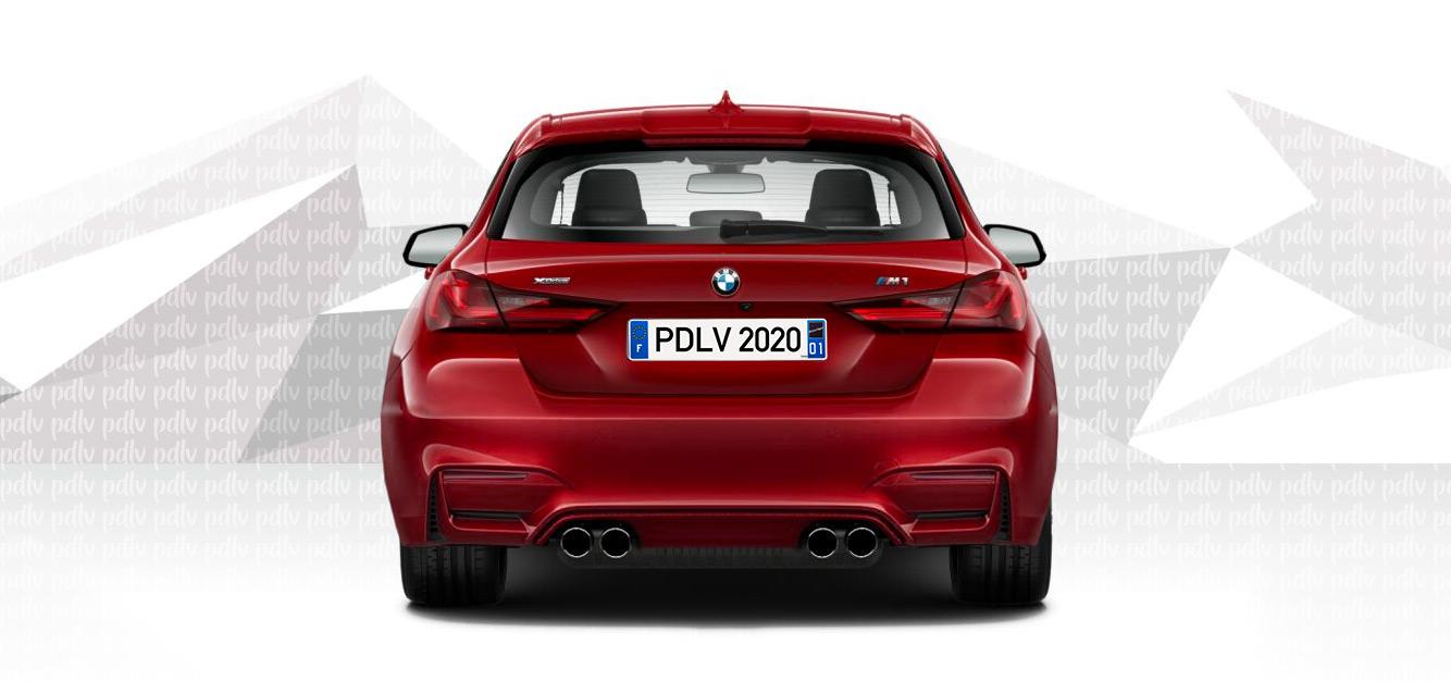 Arrière Photomontage BMW M1 (F40) 2020