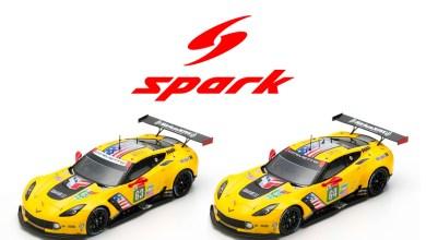 Photo of 1/43 : Les Corvette C7.R du Mans 2019 arrivent chez Spark