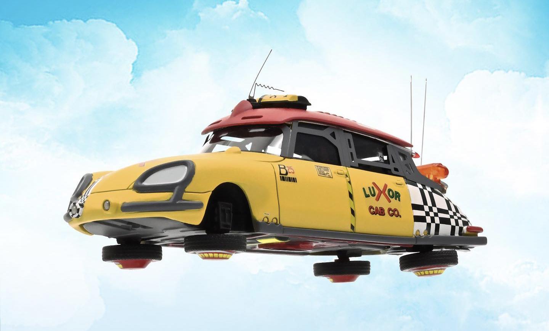 DS Taxicab Norev 1/43 de Retour vers le futur 2