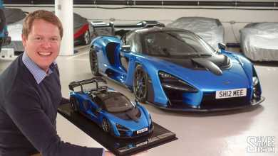 Photo of 1/8 : Shmee150 reçoit sa McLaren Senna Amalgam
