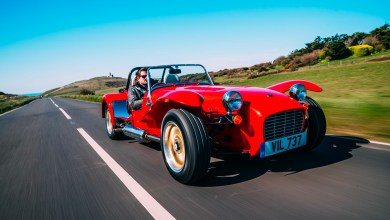 Caterham Super Seven 1600 performances