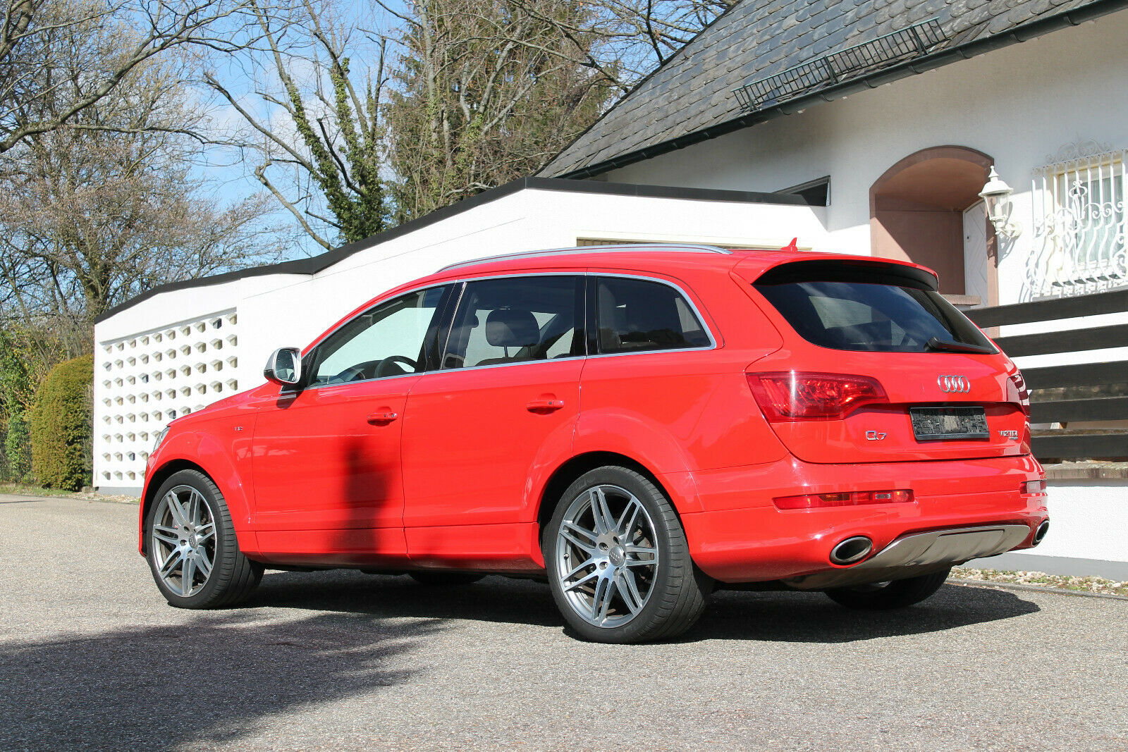 Audi Q7 V12 TDI performances
