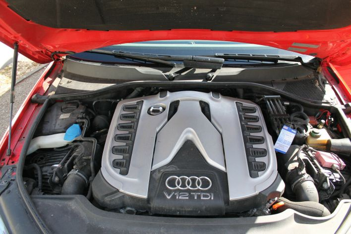 Audi Q7 V12 TDI moteur