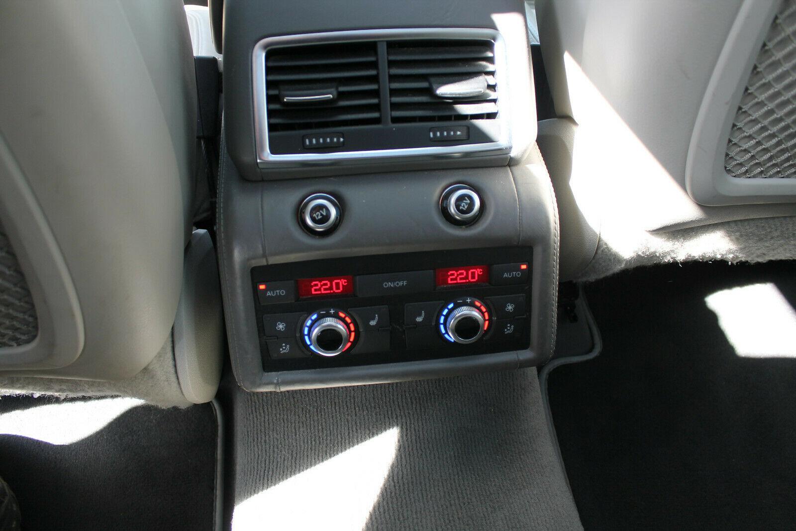 Audi Q7 V12 TDI climatisation automatique