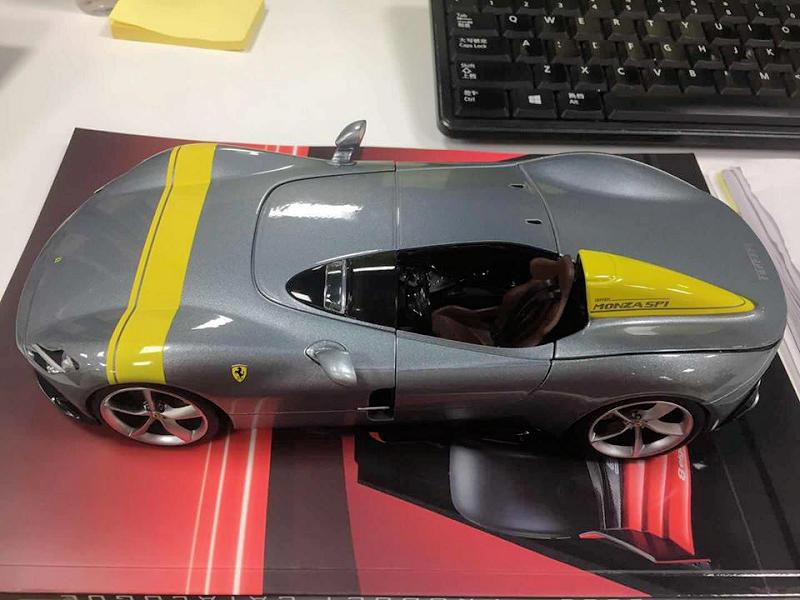 1/18 Ferrari Monza SP1 Bburago