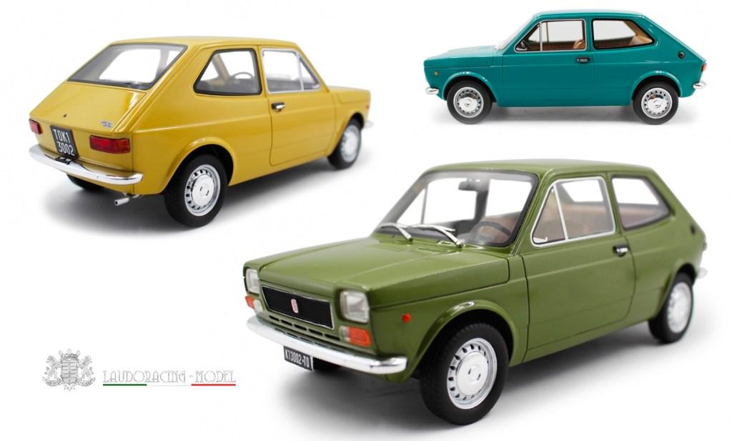 1/18 Fiat 127 par LaudoRacing