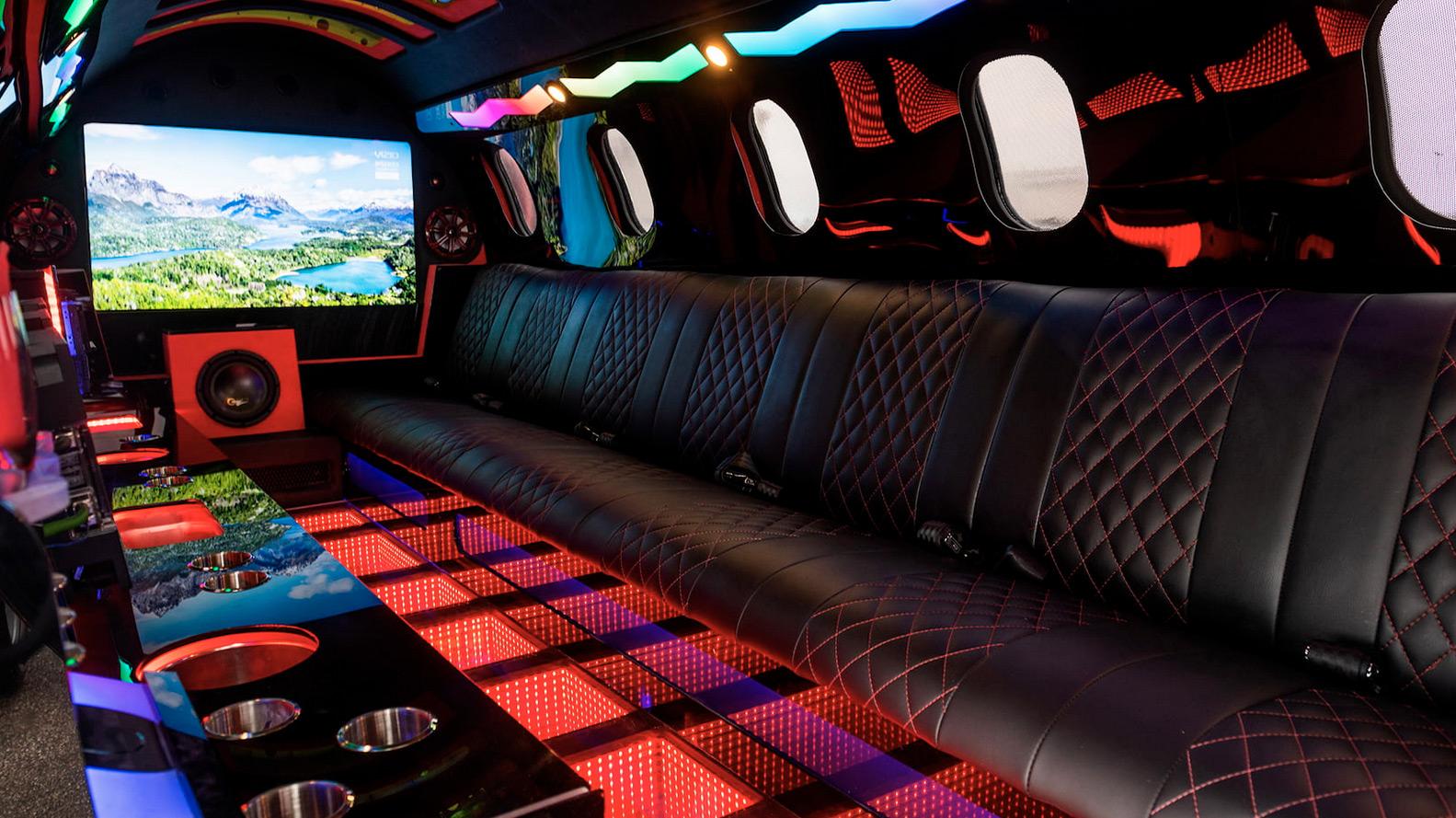 Limo Jet sièges
