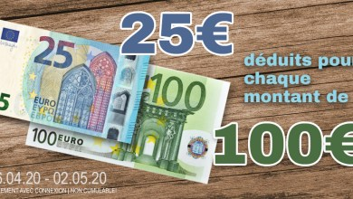 Achetez 100 € sur Modelcarworld, n'en payez que 75
