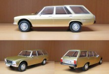 Photo of 1/18 : La Peugeot 504 break bientôt chez MCG