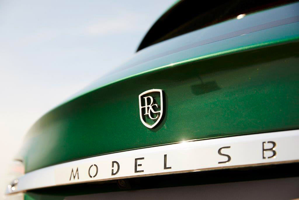 Logo Tesla Model S Shooting Brake